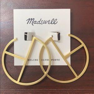 Madewell earrings! So fun